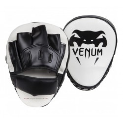 Venum Light Focus Mitts - Ice/Black