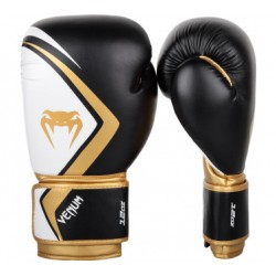 VENUM Contender 2.0 Boxing Gloves - Black / Gold