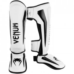 VENUM 20% OFF Elite Standup Shin Guards - White / Black
