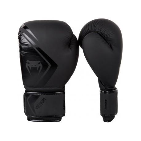 480202b15 VENUM Contender 2.0 Boxing Gloves - Black - Fightshop