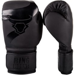 RINGHORNS Charger Boxing Gloves - Black