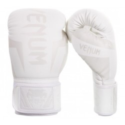 Venum Elite Italy Boxing Gloves - White