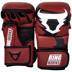 VENUM RINGHORNS Charger MMA Sparring Gloves - Black / Neo