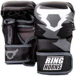 VENUM RINGHORNS Charger MMA Sparring Gloves - Black