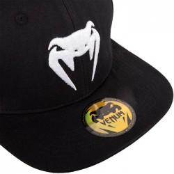 Venum klasika Snapback cepure melna