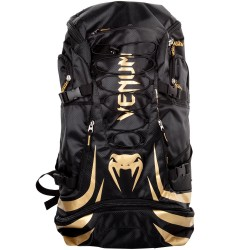 Venum sporta mugursoma melns/zelta krāsā