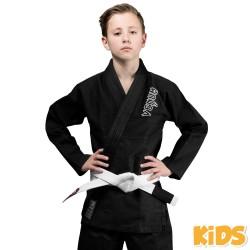 Venum Contender bērnu BJJ Gi/kimono melnā krāsā