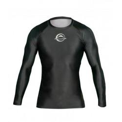 FUJI Baseline kompresijas krekls ar garām piedurknēm melnā krāsā