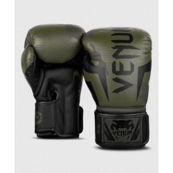 VENUM ELITE boksa cimdi - KHAKI CAMO krāsā