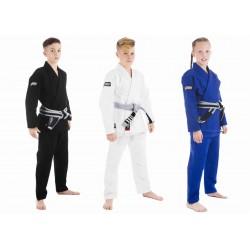 Bērnu Roots Jiu jitsu (džiu džitsu) Gi - zilā krāsā