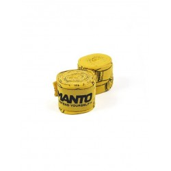 MANTO handwraps PUNCH (4m) yellow