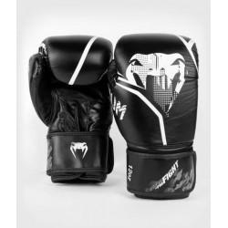 VENUM CONTENDER 1.2 boksa cimdi melnā/baltā krāsā