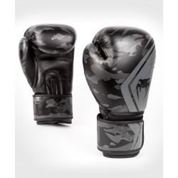VENUM DEFENDER CONTENDER 2.0 boksa cimdi - melnā/melnā krāsā