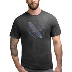 Hayabusa Iridescent Falcon T-krekls - melnā krāsā