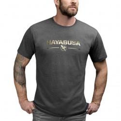 Hayabusa Metallic Logo T-krekls - melnā krāsā