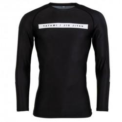 RIVAL SOLID kompresijas krekls  melnā krāsā