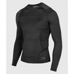 Venum G-Fit kompresijas krekls ar garām piedurknēm melnā krāsā